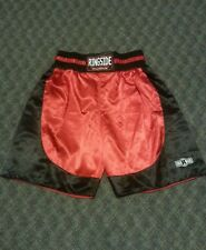 RED & BLACK RINGSIDE BOXING SHORTS XXL