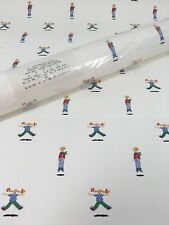 Schumacher Wallpaper Triple Roll Clown Circus Jumpers Kids Room Nursery Vintage