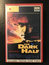 The Dark Half Ex-Rental Vintage Big Box VHS Tape English dutch subs Horror