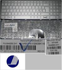 Clavier Qwerty NE Nordic HP Pavilion DV6-6000 DV6-6100 DV6-6200, 644356-DH1 Gris