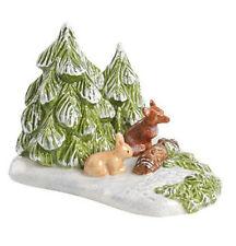 Villeroy & Boch Mini Christmas Village Waldstück mit Tieren Nr 5443