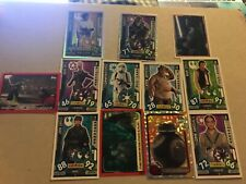 A Mixture of Various Star wars Collectable Cards.