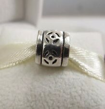 New & Retired w/Box  Pandora Sterling Silver Skipping Stones Charm 790205 Celtic
