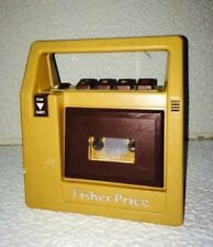 1980 Fisher Price Toys Tape Recorder and Player
