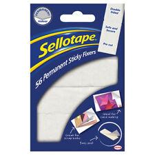 Sellotape Adhésif Fixateurs Permanent Double Côté Mousse 12 x 25mm - Paquet De