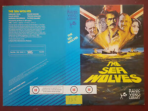 The Sea Wolves - Rank Video Library - PRE-CERT - Used Video Sleeve/Cover #B9003