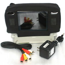 "Audiovox 5.6"" Color LCD Silver Mobile Monitor Screen for DVD VCR System"
