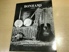 More details for bonhams chelsea classic guitars sale and us fretted catalogue 2nd december 1998