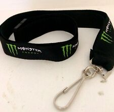 MONSTER ENERGY DRINK LANYARD-KEY CHAIN-ID HOLDER. NEW 100% ORIGINAL / AUTHENTIC.