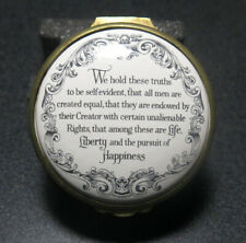 New listing Cartier Bicentenary of the Declaration of Independence - Trinket Box - Rare