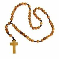 Holy Land Market Natural Olive Wood Rosary