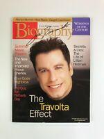 John Travolta Signed Autographed Biography Magazine June 1999