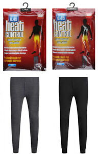 Mens Thermal Long Johns Bottom Underwear Warm Thermals Trouser Baselayer S M L