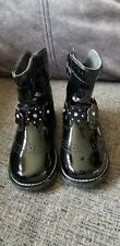 Lelli Kelly Patent Leather Boots Girls Size 8/25