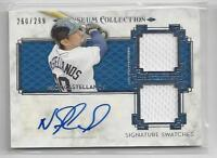Nick Castellanos Jersey Auto 2014 Topps Museum Collection 260/299 Tigers