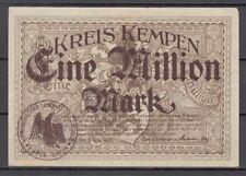 Kempen  -  Kreis  -  1 Million Mark  -  Buchst. D