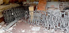 Victorian Fence Porch Gate Garden Architectural Salvage Wrought Iron 50ft Avail.