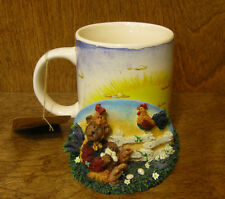 Boyds Accessories #390532 Cooper.Good Morning America, Mug & Holder, Mint/Box