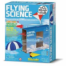 4M Kidz Labs Flying Science Kite Paper Planes Science Experiment Toy DIY Game
