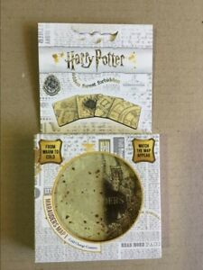 ~ HARRY POTTER ~ Marauders Map ~ 4 Pack Coasters ~ Cold Change ~ Brand New ~