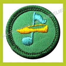 DANCER Junior Girl Scout Badge 1960s-70s NEW Patch Dancing Multi=1 Ship Charge