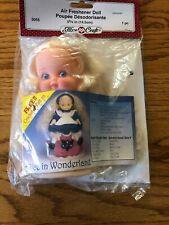 Fibre Craft Air Freshener Doll 5 3/4 Long Blonde Hair NEW in PKG w/Pattern 3055