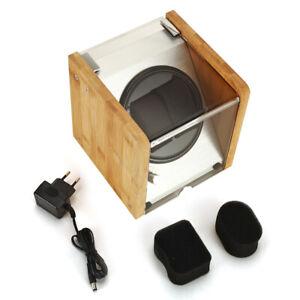 Automatikuhren Uhrenbeweger Uhrenbox Watch Winder Mute für 2 Uhren