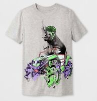 Cat & Jack Boys Short Sleeve Graphic T-Shirt Gray Select Size (3657)