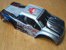 Redcat Volcano EPX Pro Factory Painted Silver Black Red 1/10 Truck Body EPX S30