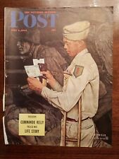 THE SATURDAY EVENING POST  JULY 1,1944 Cover only