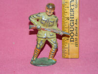 Vintage METAL TOY SOLDIER - Unknown Brand - see pictures