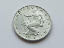 More details for scarce 50 filler coin from hungary dated 1948 - good filler/collectable coin