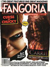 FANGORIA #327 October 2013 CURSE of CHUCKY & CARRIE All New Tony Todd