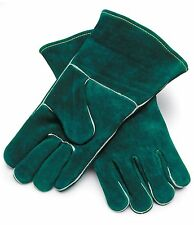 LEATHER FRYER GLOVES FOR BBQ GRILL MEAT PAN HANDLING SMOKER OVEN COOKING COOKER