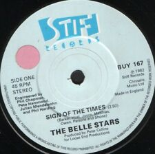 "BELLE STARS sign of the Times UK acheter 167 sol 7"" WS EX/"