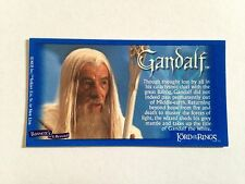 Lord Of The Rings - Bassett / Barratt Trading Cards - Gandalf - Cigarette Cards