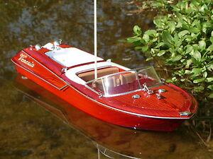 "RC Modell Boot VENEZIA Länge 45cm ""Ferngesteuert 40MHz"" 040390"