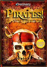 Pirates! Scourge Of The Seven Seas, Good DVD, Various, TREASURE HUNTERS 2 Produc