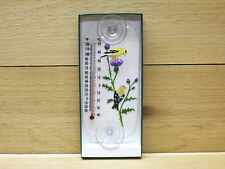Aspects Original Window Thermometer Goldfinch Pair