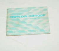 Bedienungsanleitung / Fahrer Handbuch Honda CB 400 F - Ausgabe 1974