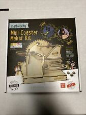 New! Mini Coaster Maker Kit Tinkineer Marbleocity Marble Run Machine Sealed Stem