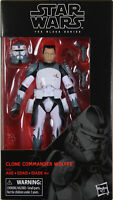 "Star Wars Black Series ~ 6"" CLONE COMMANDER WOLFFE ACTION FIGURE ~ Hasbro"
