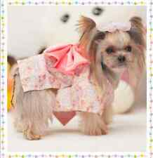Dog Clothes Pet Dress Kimono Apparel For Dog Cat Puppy Costume Skirt Clothing
