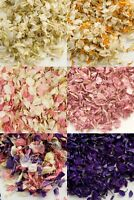 Real Dried Delphinium Petals Biodegradable Natural Wedding Confetti