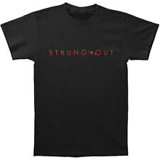 Strung Out Men's New Logo Astrolux Tee T-shirt Large Black