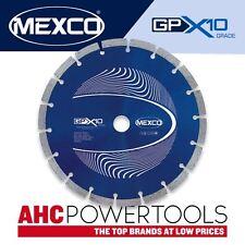 Mexco GPX10 230mm (9 pulgadas) de propósito general de hormigón Hoja de Diamante Disco
