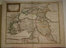 TURKEY MIDDLE EAST CYPRUS CENTRAL ASIA RUSSIA 1660 SANSON & MARIETTE ANTIQUE MAP