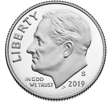 2019-S Roosevelt Dime Silver Proof - Deep Cameo Pure(99.9%) Silver.