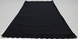 Ladies 3 way Slip/ Underskirt in Black - Sizes Medium to XX Large