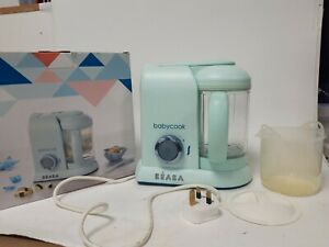 Beaba Babycook 4 in 1 Limited Edition Jade green Working Boxed No Instructions